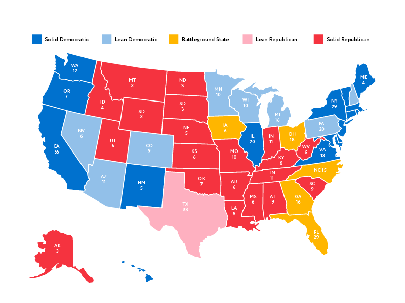 US ELECTION STATES